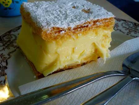 Hausfrau Bakery Vanilla Slice
