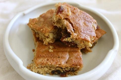 Date and Walnut slice