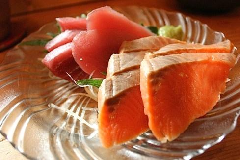 Ebisu sashimi
