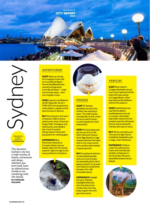 City Reports Sydney