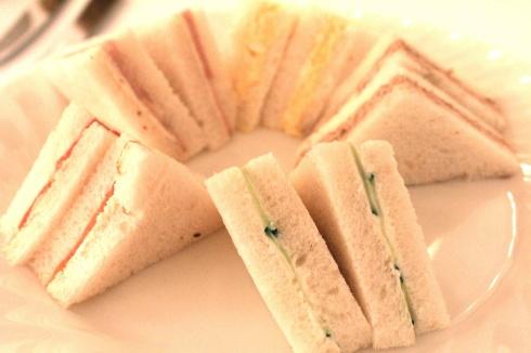 Raffles sandwiches