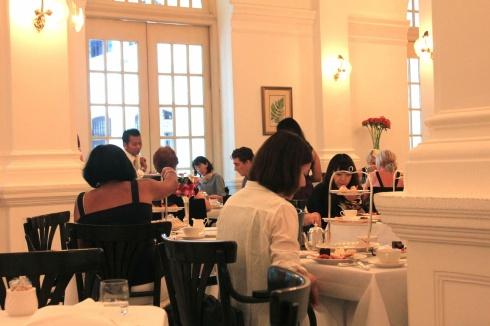 Raffles dining room