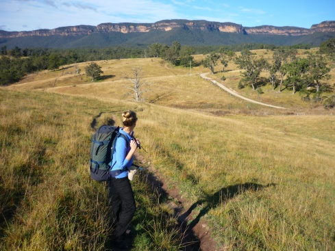 The view from the Six Foot Track in NSW's Blue Mountains, by James Marten-Coney.