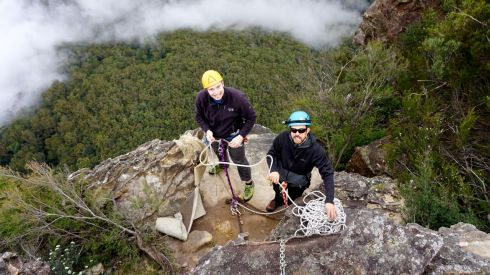 Canyoning Abseiling Blue Mountains